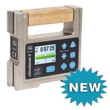05330210 Brown & Sharpe TESA  Clinobevel 3 Inclinometer ±60° - Cast Iron Model