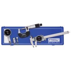 52-229-770 Fowler Blackface Measuring Set with Indicator