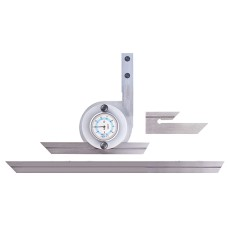 """52-440-777-0 Fowler Universal Dial Protractor with 6"""" & 12"""" Blades"""