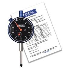 "52-520-110-1 Fowler Blackface AGD Premium Dial Indicator 1"""