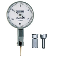 "52-562-776-0 Fowler Whiteface 0.030"" Test Indicator - 1-1/2"" dial diameter"
