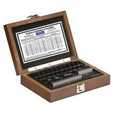53-672-036-0 Fowler Shop-Blox 36 piece Economy Rectangular Gage Block Set