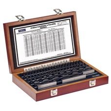53-672-081-0 Fowler Shop-Blox 81 piece Economy Rectangular Gage Block Set