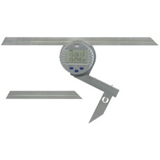 """54-440-750-0 Fowler Electronic Universal Protractor with 6"""" & 12"""" Blades"""
