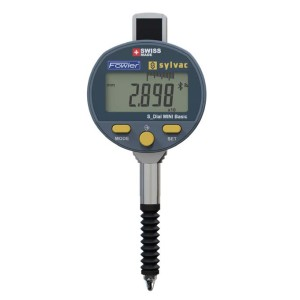 "54-520-687-BT Fowler - Sylvac IP67 Bluetooth Mini-Resistant Electronic Indicator, 0-0.5""/12.5mm"
