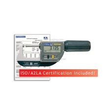 "54-815-030-C Fowler/Sylvac Rapid Mic, Premium Electronic Micrometer 0-1.2""/0-30mm with ISO/A2LA Certification"