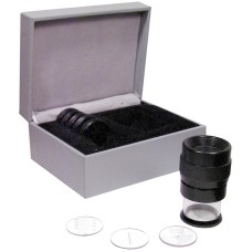 52-664-009 Fowler 10x Pocket Optical Comparator with 9 reticles
