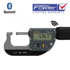 "54-815-130-0 Fowler/Sylvac Bluetooth Rapid Mic, Premium Electronic Micrometer 0-1.2"", 0-30mm (903.0306)"