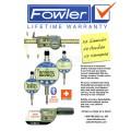 Fowler Lifetime Warranty