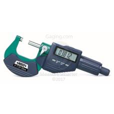 "3109-25E INSIZE Electronic Outside Micrometer 1""/25mm"