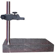 12x18x2AASPCS Precision Granite AA Grade (Laboratory) Indicator Comparator Stand (Stem Mount) 12 x 18 x 2 Inch