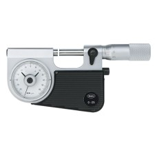 Micromar 40 F 4150000 Mahr Micrometer with Dial Comparator 0-25mm