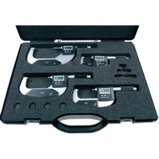 Micromar 40 EWR 4151709P, 4151709 Mahr-Federal Digital Micrometer Set with Reference System 0-100mm/0-4""