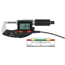 4157000 Micromar 40 EWR Mahr Digital Micrometer with Reference System 0-25mm/0-1""