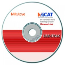 06AFM386 Mitutoyo USB-ITPAK Measurement Data Collection Software V2.0