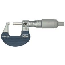101-717 Mitutoyo Outside Micrometer with Ratchet Thimble 0-1""