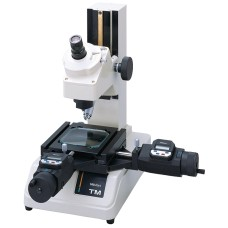 "176-808A Mitutoyo Toolmakers Microscope TM-505 With Mic Heads, 2 X 2"" Stage"