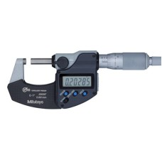 "293-345-30 Mitutoyo MDC Electronic Micrometer with Ratchet Thimble 1-2""/25.4-50.8mm"