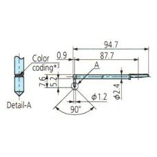 12AAB413 Surftest SJ-410 Stylus 2X for Deep Hole - Double-Length and Triple-Length, 5µm