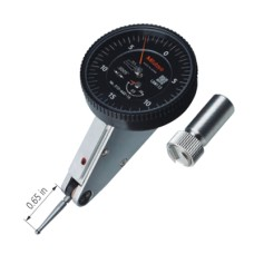 513-442-16A Mitutoyo 513 Series Standard 20° Tilted Face Dial Test Indicator Horizontal Type-Basic Set - 0.06""
