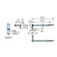 12AAB412 Surftest SJ-410 Stylus for Eccentric Arm, 5µm