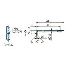 12AAB411 Surftest SJ-410 Stylus for Knife-Edge, 5µm