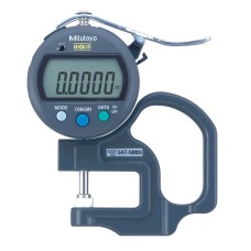 "547-500S Mitutoyo Digimatic Thickness Gage 0-.47"" / 0-12mm Range"