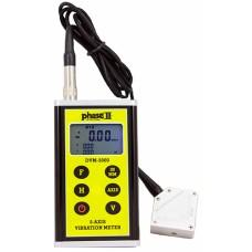 DVM-2000 PHASE II+ 3-D Vibration Meter