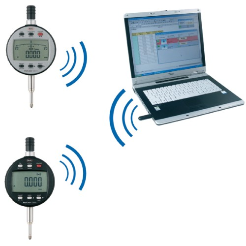 Wireless Dial Indicator : Mahr federal i stick wireless receiver for