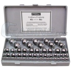 52-438-766 Fowler 52 Piece Gage Ball Set