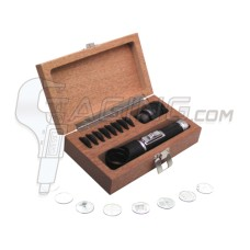 52-664-609 Fowler 10x Pocket Optical Comparator Set with Illuminator