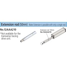 12AAA210 Mitutoyo Extension Rod (50mm) for SJ Series