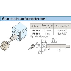 178-398 Mitutoyo Gear Tooth Surface Detector for SJ Series (5um/4mN)