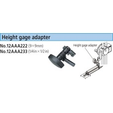 12AAA222 Mitutoyo Height Gage Adapter for SJ Series (9x9mm)