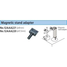 12AAA220 Mitutoyo Magnetic Stand Adapter for SJ Series (9.5mm)