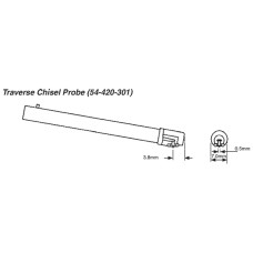 """54-420-301-0 Fowler Traverse Chisel Probe for X-Pro .0004"""""""