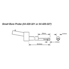 """54-420-321-0 Fowler Small Bore Probe for X-Pro .0004"""""""