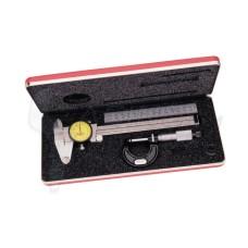 S909MZ Starrett Basic Precision Measuring Tool Metric Set 65668