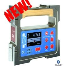 001-160-2431-52AA wylerLEVEL FRAME with 150mm, .2 Arc Second Sensitivity - 4 Precision Measuring Bases - Magnetic Bases Vertical/Horizontal
