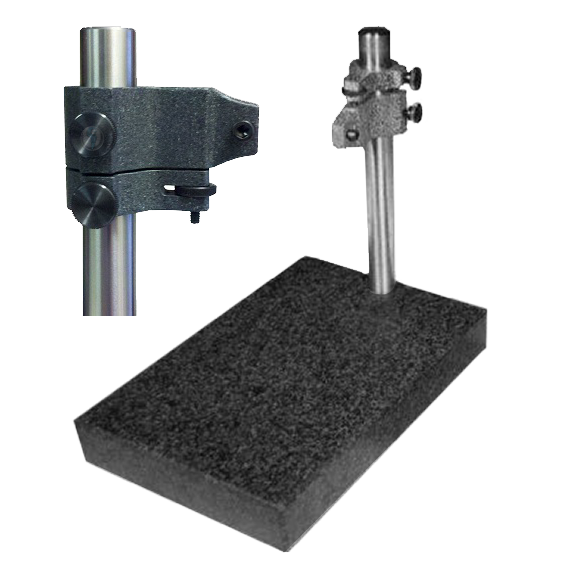 Precision Granite Indicator Comparator Stands (Lug Back Mount)